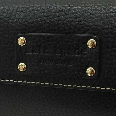 KATE SPADE(케이트스페이드) 로고 장식 블랙 장지갑 [강남본점] 이미지3 - 고이비토 중고명품
