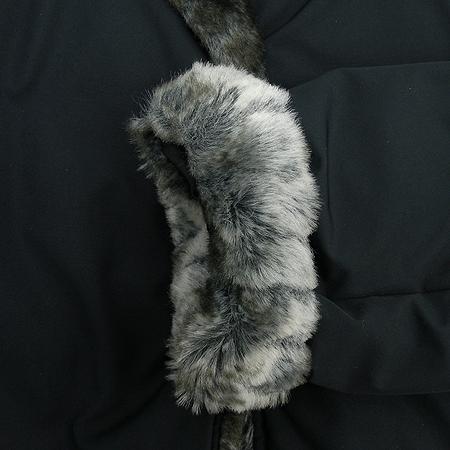 MICHAA(미샤) 패딩 코트 (배색털:토끼털)