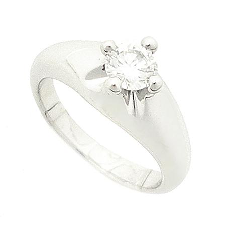 Bvlgari(불가리) PT950 (플래티늄) 0.556 캐럿 다이아몬드 반지-9호