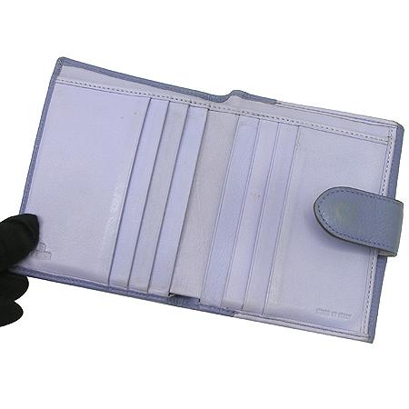 Fendi(펜디) 8M0188 퍼플 레더 2단 반지갑
