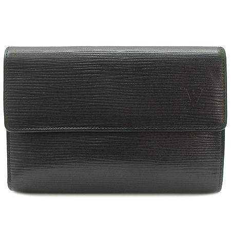 Louis Vuitton(루이비통) M63712 에삐블랙 PORTE TRESOR 중지갑