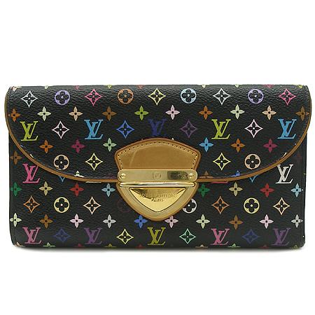 Louis Vuitton(루이비통)  M93738 모노그램 멀티 컬러 블랙 유젠느 월릿 장지갑 [명동매장]