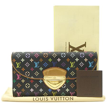 Louis Vuitton(루이비통)  M93738 모노그램 멀티 컬러 블랙 유젠느 월릿 장지갑 [명동매장] 이미지5 - 고이비토 중고명품