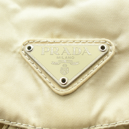 Prada(프라다) B6677 투 포켓 패브릭 여성용 백팩