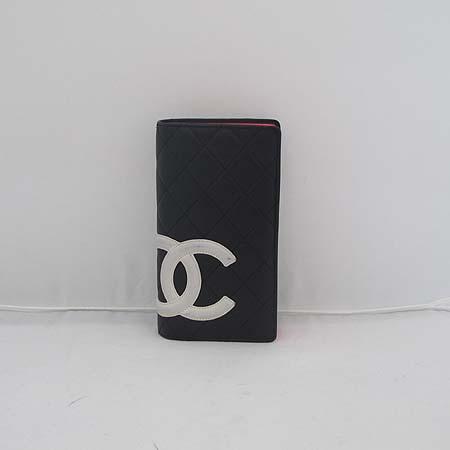 Chanel(샤넬) A26717Y01669 화이트 COCO로고 깜봉 장지갑 [일산매장]