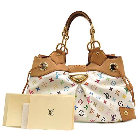Louis Vuitton(루이비통) 모노그램 멀티 컬러 화이트 우슐라 숄더백
