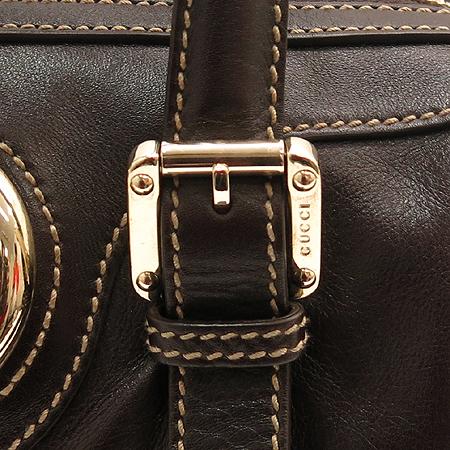 Gucci(구찌) 170009 은장 메탈 삼선 로고장식 래더 보스톤 토트백 이미지4 - 고이비토 중고명품