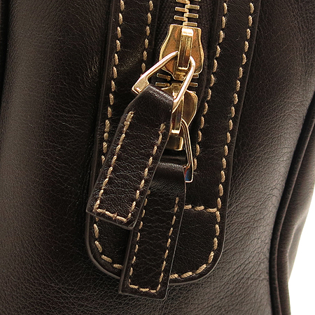 Gucci(구찌) 170009 은장 메탈 삼선 로고장식 래더 보스톤 토트백