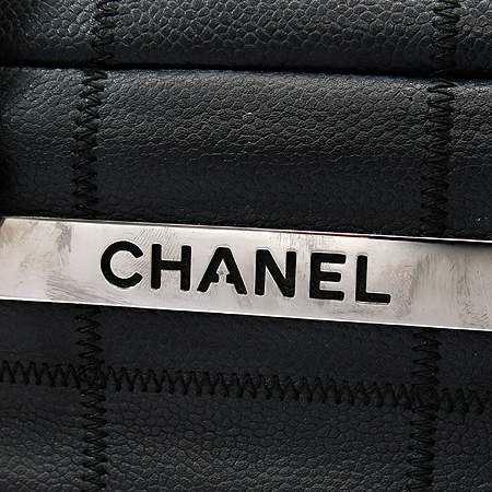 Chanel(샤넬) 캐비어스킨 마트라세(MATLASSE) 볼링 토트백 이미지4 - 고이비토 중고명품