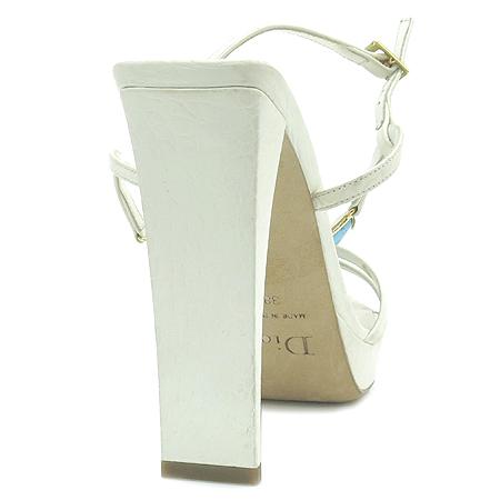 Dior(크리스챤디올) 스카이 블루 스톤 장식 여성용 하이힐 샌들 [강남본점] 이미지5 - 고이비토 중고명품