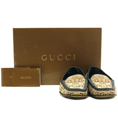 Gucci(구찌) 121899 자가드 레더 트리밍 여성용 로퍼 [인천점]