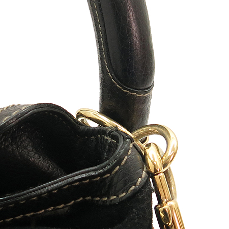 Gucci(구찌) 177223 패브릭 자수 뱀부 장식 인디 숄더백