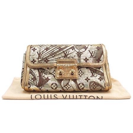 Louis Vuitton(루이비통) M93142 모노그램 브로케이드 탈리(BROCADE THALIE) 골드 클러치 백 (한정판)