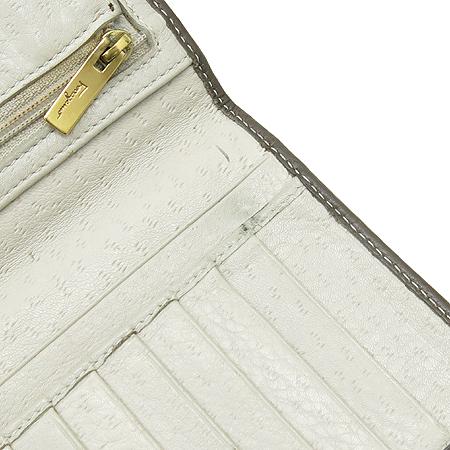 Ferragamo(페라가모) 22 6770 간치니 빅 로고 레더 장지갑
