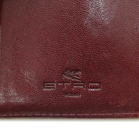 Etro(에트로) 13870 페이즐리 패턴 금장 로고 장식 중지갑 [강남본점] 이미지5 - 고이비토 중고명품