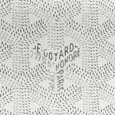 GOYARD(고야드) 로고 PVC 마티뇽 짚업 장지갑 [명동매장]