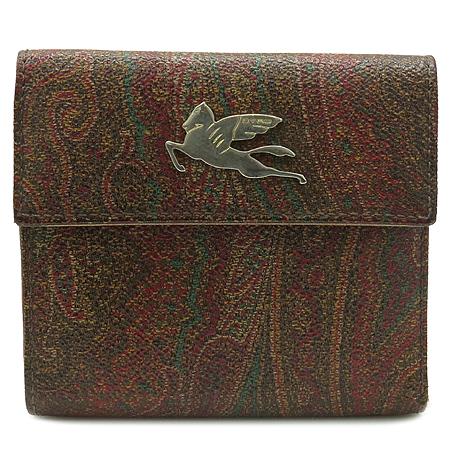 Etro(에트로) 02466 페이즐리 페가수스 로고 장식 반지갑 [인천점]
