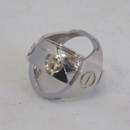 Cartier(까르띠에) 18K(750) 화이트골드 러브링 펜던트 인솔레이션 크로스 반지 겸 펜던트 [일산매장]