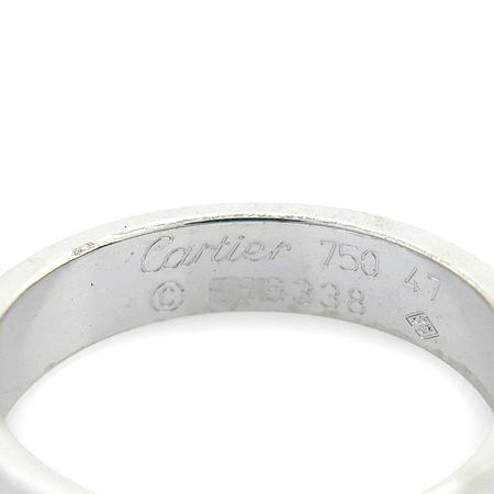 Cartier(까르띠에) B4085100 18K 화이트 골드 미니 러브링 반지 - 7호 [명동매장] 이미지3 - 고이비토 중고명품