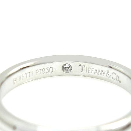 Tiffany(티파니) PT950 (플레티늄) ELSA PERETI(엘사퍼레티) 1포인트 다이아 웨딩반지