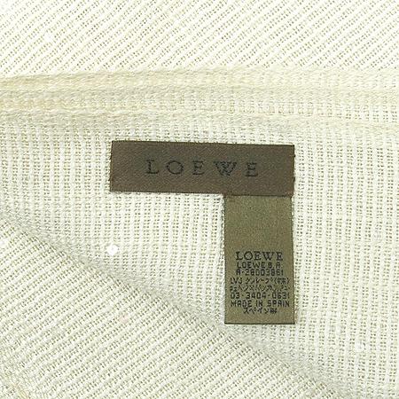 Loewe(로에베) 스팽글 혼방 로고 머플러