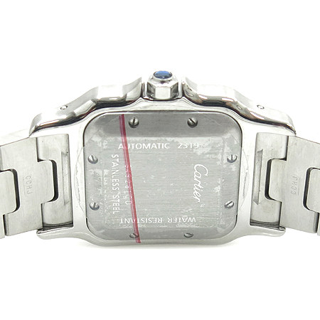 Cartier(까르띠에) W20055D6 산토스 스틸 오토매틱 LM사이즈 남성용 시계