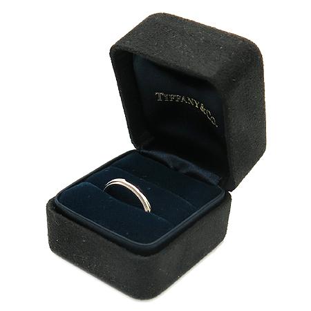 Tiffany(티파니) PT950 (플래티늄) 밀그레인 3MM 반지-10호