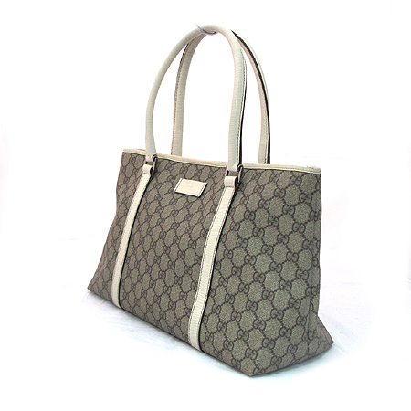 Gucci(구찌) 114595 GG 로고 PVC 쇼퍼 숄더백