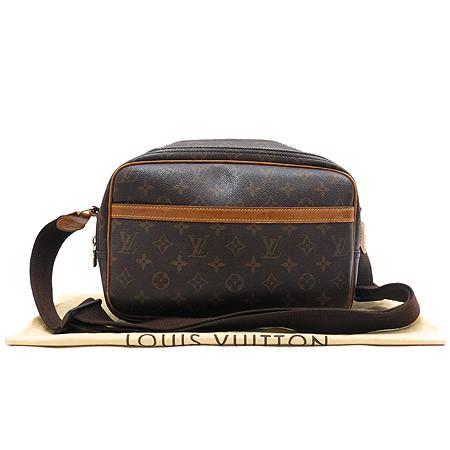 Louis Vuitton(루이비통) M45254 모노그램 캔버스 리포터PM 크로스백