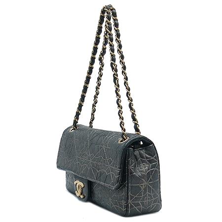 Chanel(샤넬) COCO 금장 로고 장식  체인 숄더백 [명동매장]