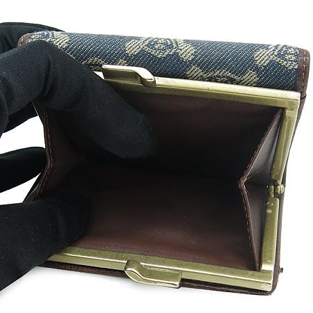 Celine(셀린느) 데님 블라종 로고 반지갑 이미지4 - 고이비토 중고명품