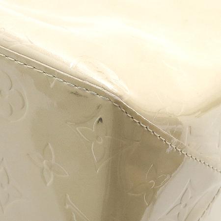 Louis Vuitton(루이비통) M91141 모노그램 베르니 리드 MM 베이지 토트백