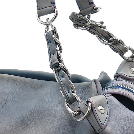 Chanel(샤넬) 램스킨 빅 로고 은장 체인 빅 숄더백 + 보조 파우치 [강남본점] 이미지4 - 고이비토 중고명품