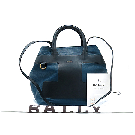 Bally(발리) Pina-md 배색 레더 2way [부산본점]