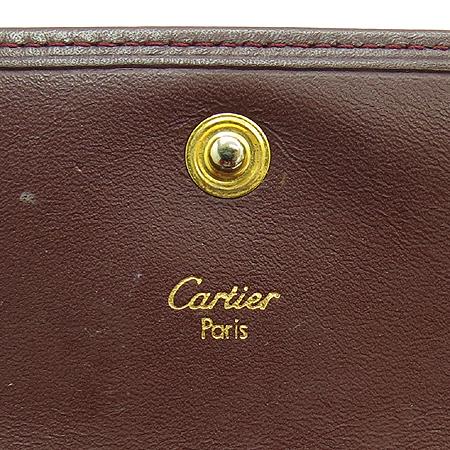 Cartier(까르띠에) 루비 라인 3단 중지갑