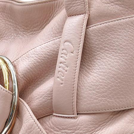 Cartier(까르띠에) 트리니티 장식 핑크 레더 토트백 [강남본점] 이미지4 - 고이비토 중고명품