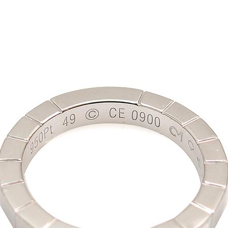 Cartier(까르띠에) B4048100 PT950(플래티늄) 라니에르 반지 - 9호