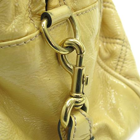 Marc_Jacobs (마크제이콥스) 금장 옐로우 페이던트 퀼팅 체인 2WAY