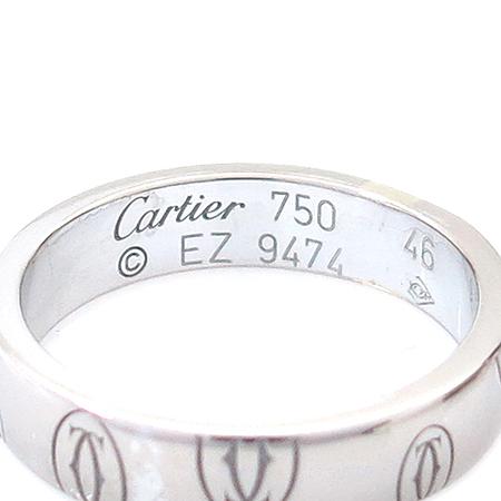 Cartier(까르띠에) B4050900 18K(750) 화이트 골드 해피버스데이 반지 - 6호