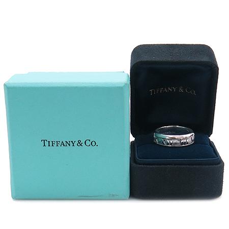 Tiffany(티파니) 18K W/G 화이트 골드 아틀라스 6mm 반지 - 13호 [명동매장]