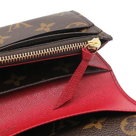 Louis Vuitton(루이비통) M60697 모노그램 캔버스 에밀리에 장지갑 [명동매장]