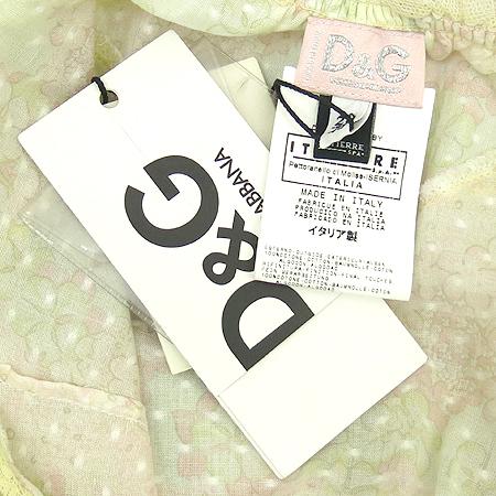 D&G(돌체&가바나) 나시 브라우스 (배색:실크100)