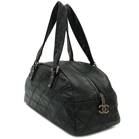 Chanel(샤넬) 램스킨 은장 로고 볼링 숄더백 [강남본점] 이미지3 - 고이비토 중고명품