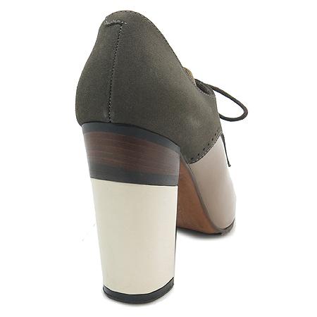 MARNI(마르니) 끈 장식 브라운 래더 여성용 앵글 부츠 [부산센텀본점] 이미지4 - 고이비토 중고명품