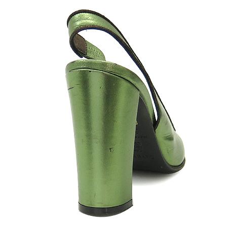 Loewe(로에베) 그린 메탈릭 슬링백 스타일 여성용 구두 [인천점] 이미지4 - 고이비토 중고명품