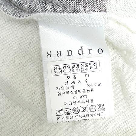 Sandro(산드로) 민소매 티