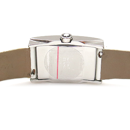 Montblanc(몽블랑) PROFILE 101552 가죽밴드 여성 쿼츠 시계