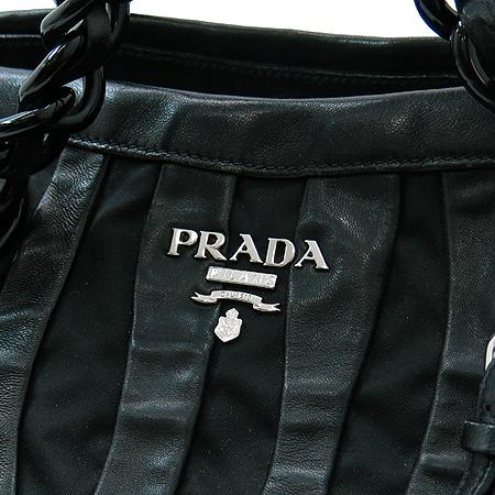 Prada(프라다) BR3998 블랙 나파 고프레 체인 숄더백