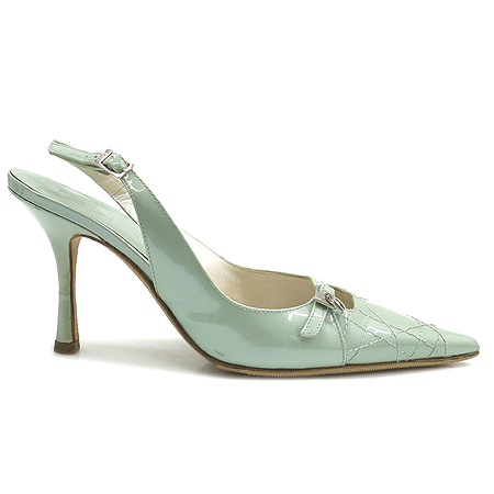 Dior(크리스챤디올) 민트 에나멜 까나쥬 스티치 여성용 슬링백