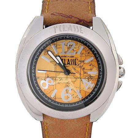 ALVIERO MARTINI (알비에로 마르티니) PCD885 원형 팬던트 가죽밴드 시계